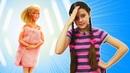 Игры в Салон красоты Барби куклы идут в солярий! Видео про куклы Барби и игрушки для девочек