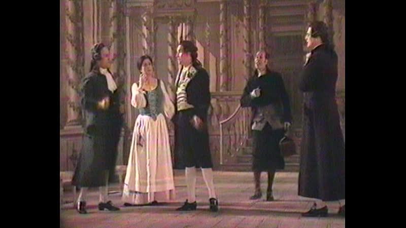 Стокгольмская опера Свадьба Фигаро Act III