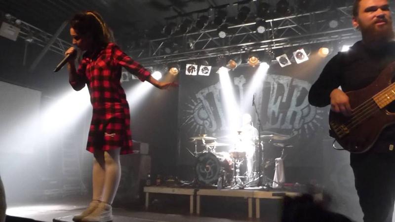 Jinjer Scissors Live @ Backstage Munich 4 10 2016