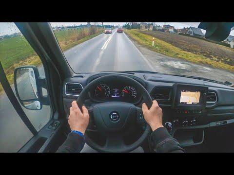New Opel Movano 2020 4K POV Test Drive 401 Joe Black
