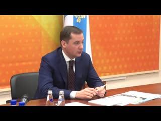 Временно исполняющий обязанности губернатора Архангельской области Александр Цыбульский провел первый личный прием граждан