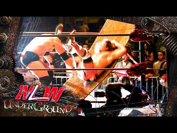 MLW Underground 5 Satoshi Kojima vs Vampiro Mike Awesome vs Jerry Lynn