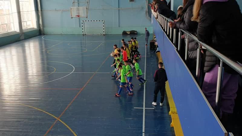 1й-тайм. ДЮСШ г.Богородицк - Академия футбола г.Тула