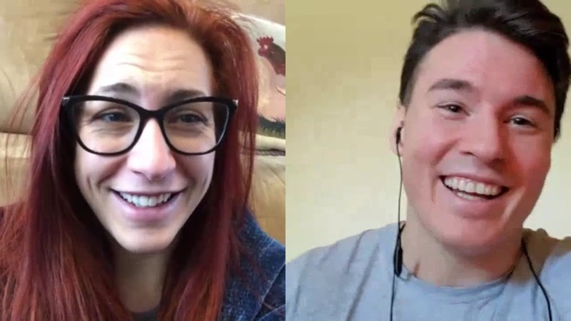 Quarantine Head Shaving with Speedball Mike Bailey and Veda Scott