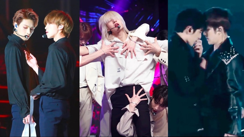 Kpop boy groups skinshipgayness in choreography (Part 3)