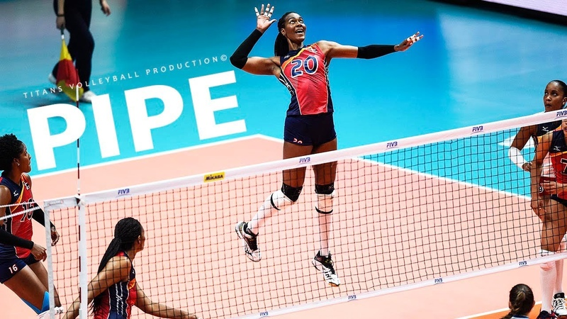 TOP 50 Powerful Volleyball PIPES Women s VNL 2018