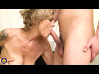 Irenka S. (59) - Mature Irenka loves to get fucked by her throbbing toy boy