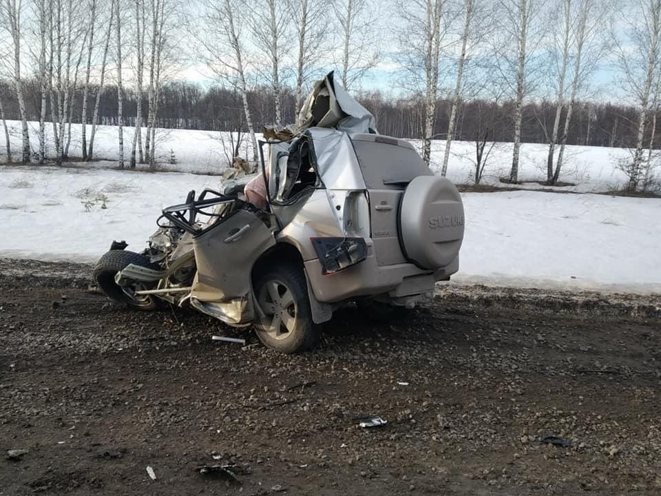 "24 марта 2019 года 1517 км трассы М-5 ""Урал"" Башкортостан ДТП"