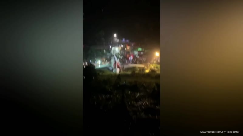 Air India Express IX1344 Plane Crash At Calicut International Airport