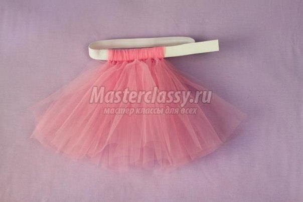 Фатиновая юбка-пачка за 2 часа (без шитья) Сохраните себе