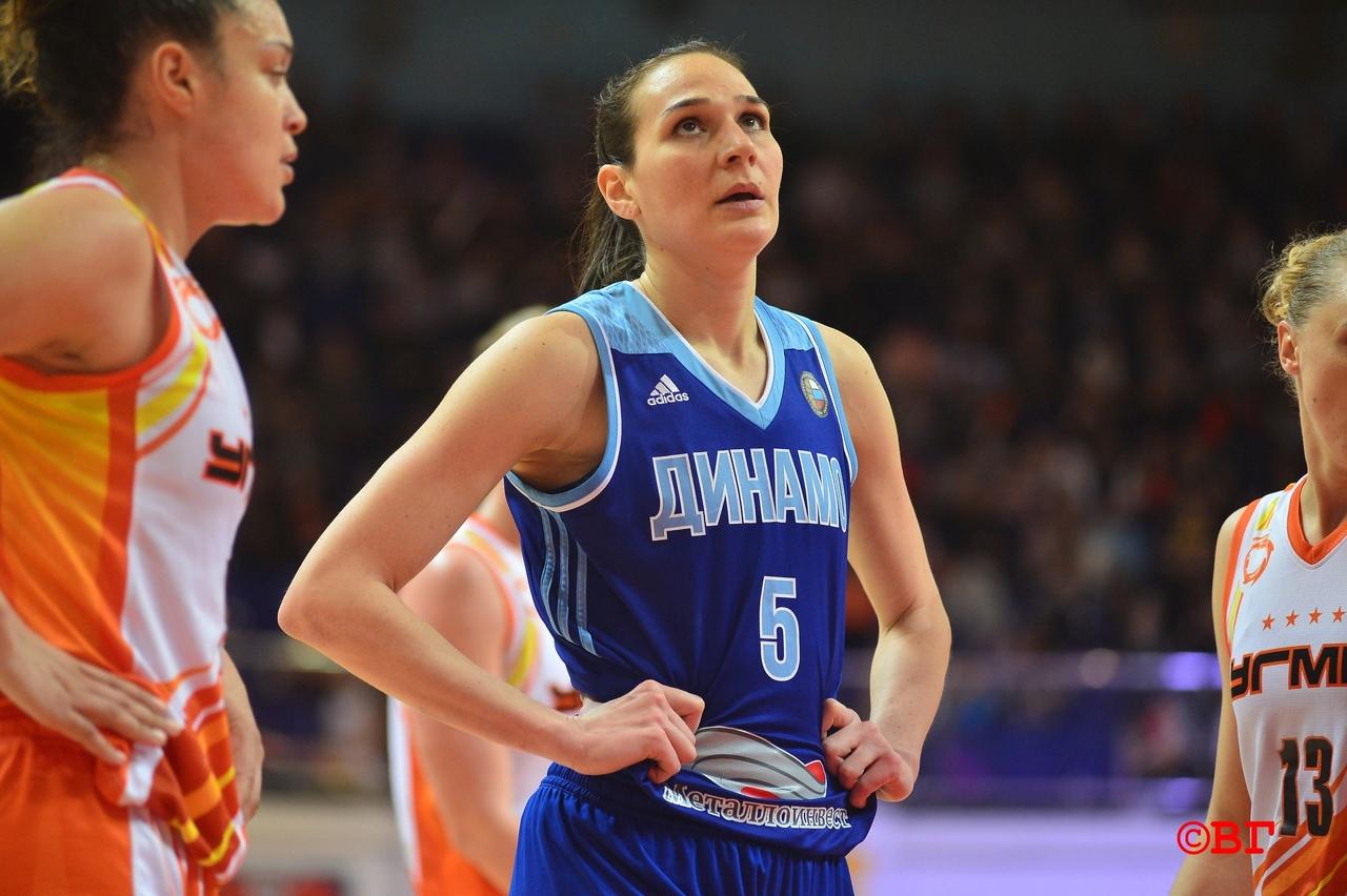 Курское «Динамо» проиграло УГМК второй матч финальной серии