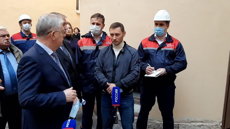 На ремонт фасада и кровли дома в Виленском переулке направят больше рабочих