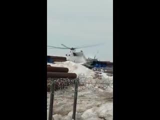 На Ямале разбился вертолет МИ-26 Рифмы и Панчи