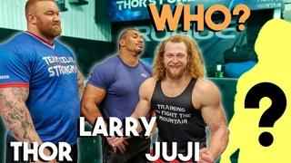 SURPRISING LARRY WHEELS & WORLD'S STRONGEST MAN IN ICELAND