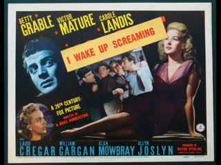 Wake Up Screaming (1941)  Betty Grable, Victor Mature, Carole Landis
