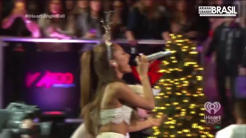 Ariana Grande amp amp Jessie J Bang Bang live at Z100 39 s Jingle Ball 2014 HD