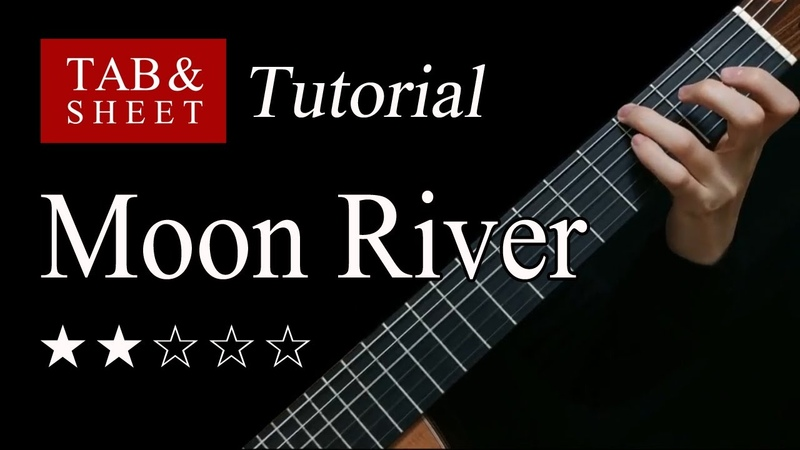 Moon River Fingerstyle Lesson TAB