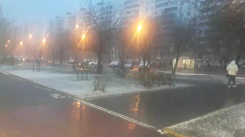 Зима вернулась🌨🌨🌨часть 1