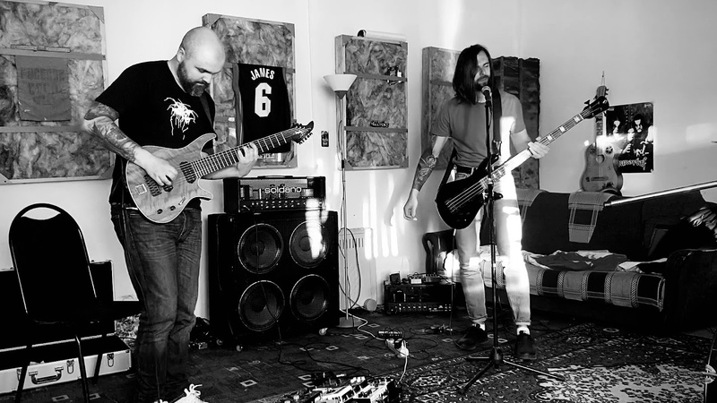 Crust A Blind Man in Darkness rehearsal video