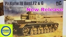 Taking a look at the new Border Models Panzer IV ausf f2/G