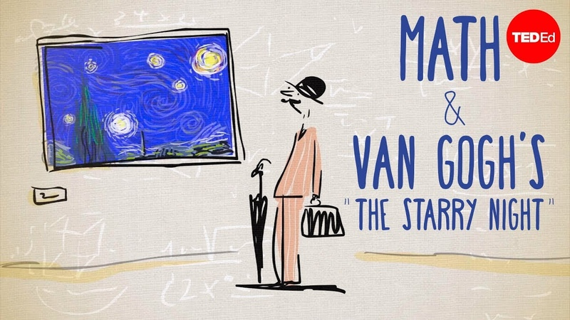 The unexpected math behind Van Gogh's Starry Night Natalya St Clair