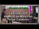 La Entrevista a modo de Loret de Mola con Felipe Calderón, García Harfuch en la controversia