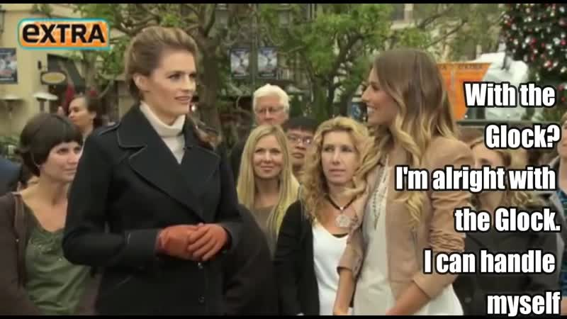 Stana Katic • Funny Moments