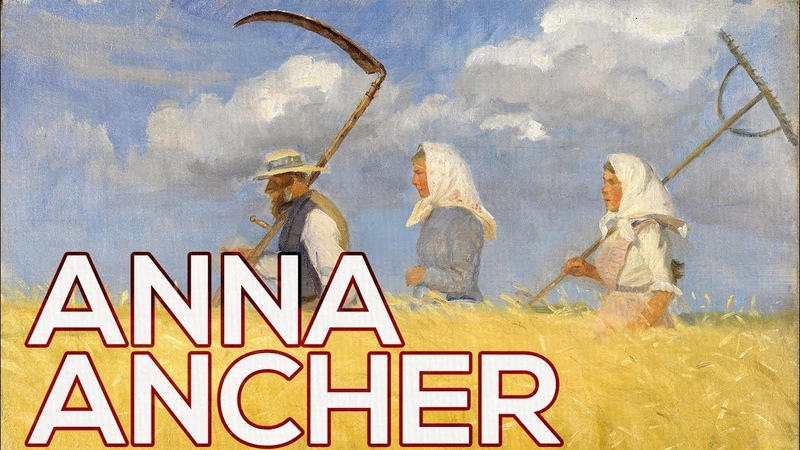Anna Ancher A collection of 46 paintings (HD)
