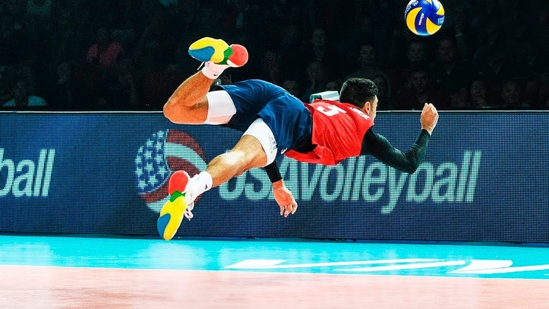 He's Not Human MOMENTS NEVER GIVE UP Legendary Volleyball Saves
