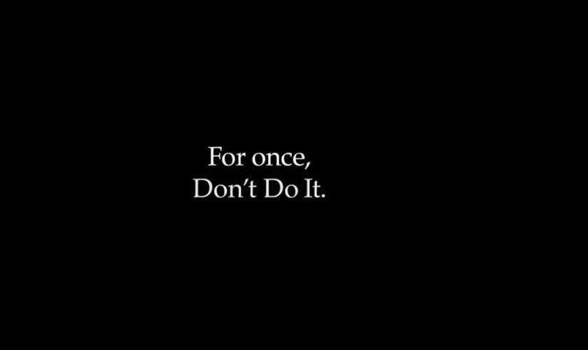 Nike. Видеообращение