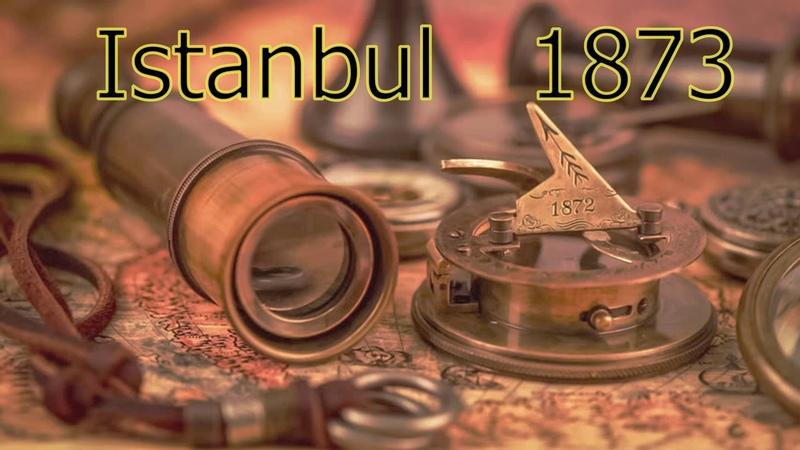 Стамбул Путишествие во времени 1873 год Стамбул Istanbul Константинóполь Редкая Гравюра Grabado