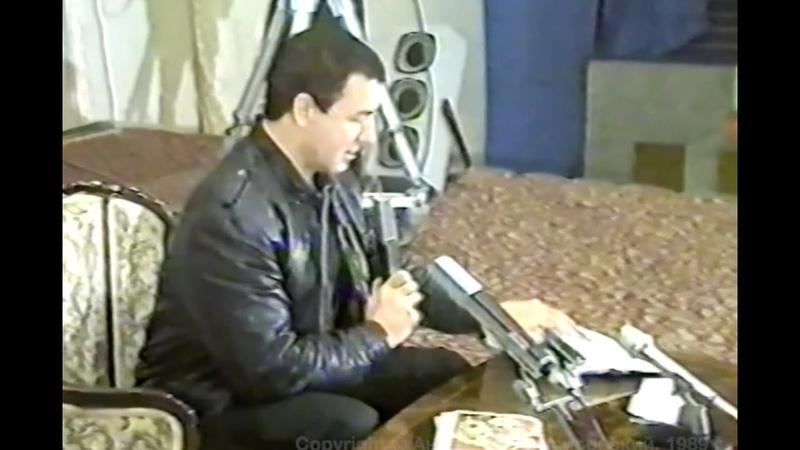 Кашпировский Оздоровительные сеансы в Ташкенте, Узбекистан, 1989 год.