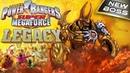 POWER RANGERS Super Megaforce. New Boss Skatana vs Green Ranger. Game POWER RANGERS LEGACY