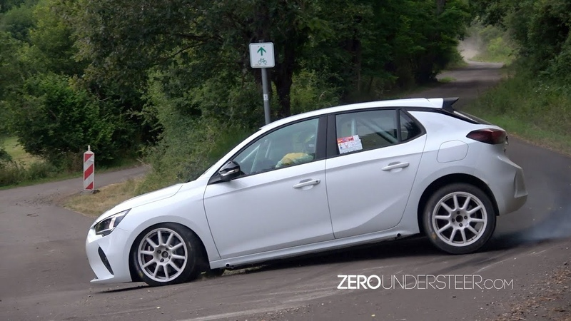 The future of Rallying 100% Electric Opel Corsa E Tests Germany 2020