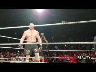 Wrestling Online: WWE Live Chicago 2016 - Randy Orton vs Brock Lesnar
