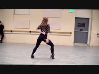 Body language суперский танец от русской малышки (не школьница)