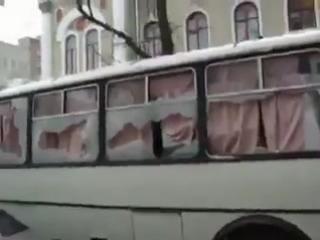 8 апреля,2014.Как харьковчане встречают николаевскую милицию