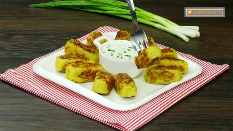 Бюджетное и вкусное блюдо для ленивых картофельные котлеты с зеленым луком