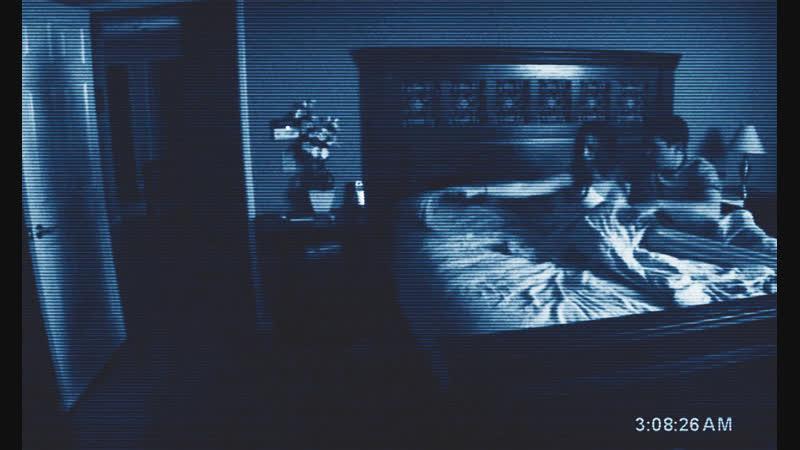 «Паранормальное явление» 2007 ужасы, триллер, детектив, мокьюментари Альтернативные концовки