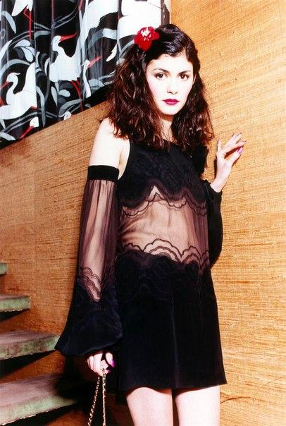 Одри Тоту для Vogue, 2002