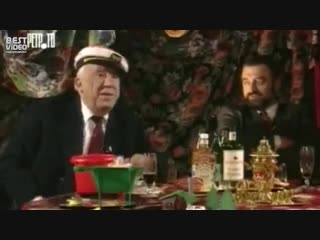 Юрий Никулин и анекдот о русском характере
