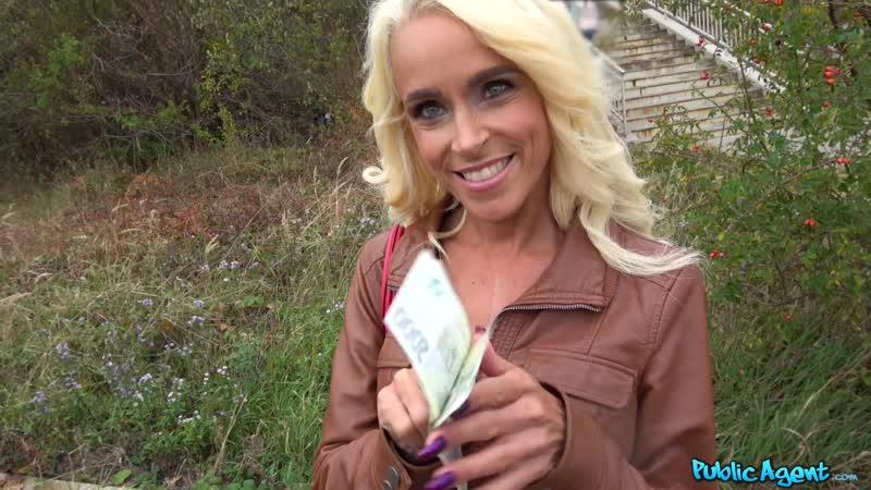Public Agent Sophie Logan Tattooed busty German blonde MILF New Porn