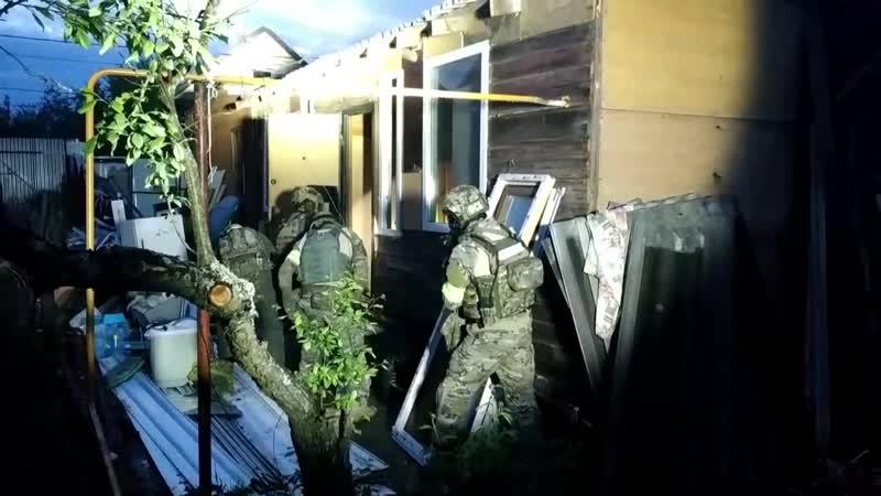 Работа ФСБ во время КТО в г.Кольчугино