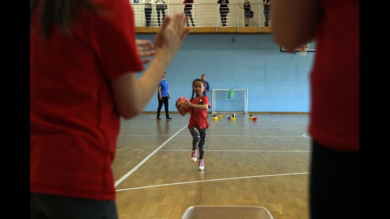 Детская команда Росгвардии НАО выиграла окружную эстафету «Динамо»