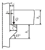 Расчет железобетонной колонны