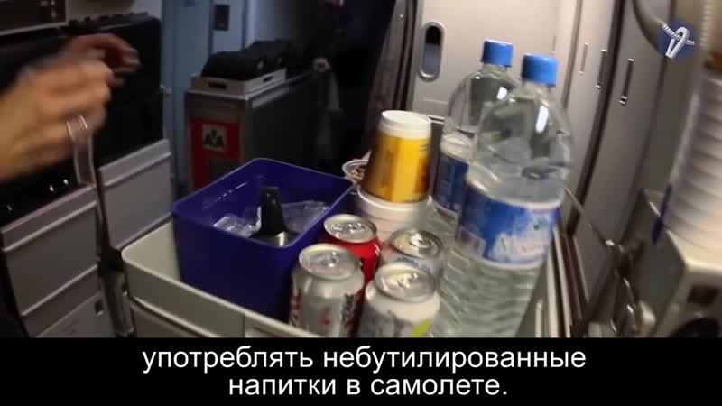 Почему бортпроводники не пьют чай и кофе в самолете