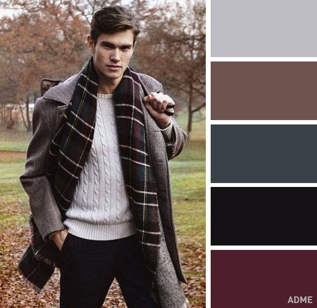 9 идеальных цветовых сочетаний в одежде для мужчин