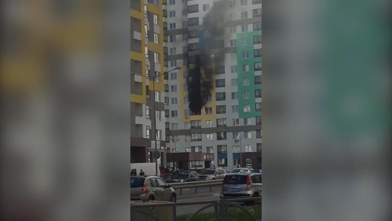 «Был слышен сильный хлопок»: в Академическом загорелась квартира