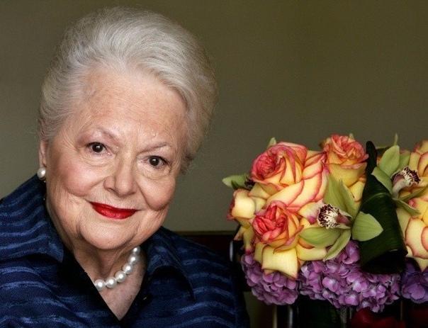 """Звезде фильма """"Унесенные ветром"""", Оливии Де Хэвилленд, исполнилось 103!"""