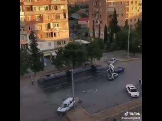Кино из окна  в Грузии снимают эпизод девятого Форсажа